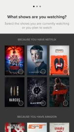 Series suggestions from Netflix
